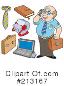 Royalty-Free (RF) business Clipart Illustration #213167