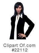 Royalty-Free (RF) Business Clipart Illustration #22112