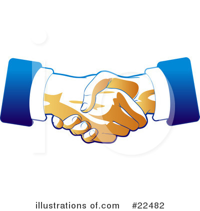 Handshake Clipart #22482 by Tonis Pan