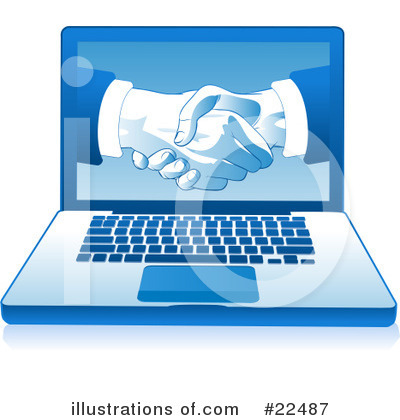 Handshake Clipart #22487 by Tonis Pan