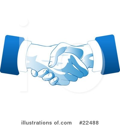 Handshake Clipart #22488 by Tonis Pan