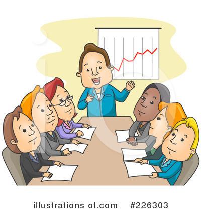 Business Team Clipart #226303 by BNP Design Studio
