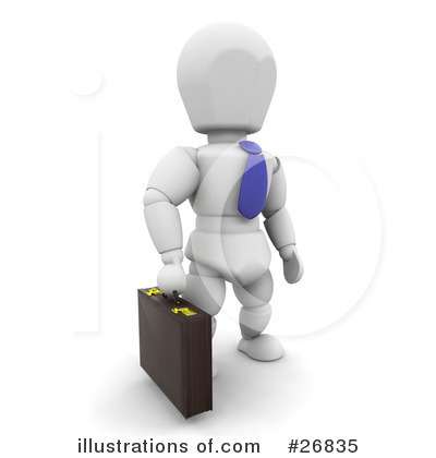 Business Clipart #26835 by KJ Pargeter