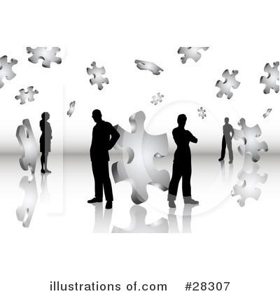 Business Clipart #28307 by KJ Pargeter