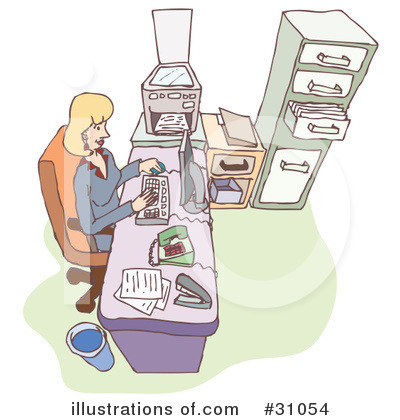 Royalty-Free (RF) Business Clipart Illustration by PlatyPlus Art - Stock Sample #31054