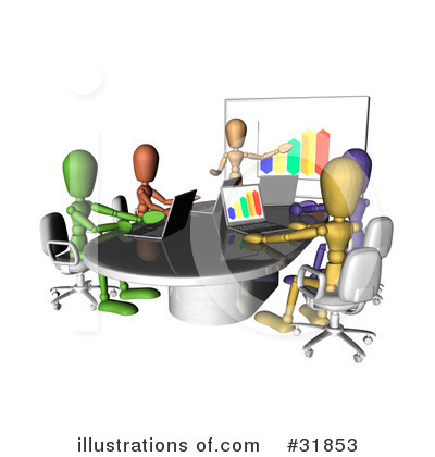 Laptop Clipart #31853 by AtStockIllustration