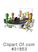 Royalty-Free (RF) Business Clipart Illustration #31853