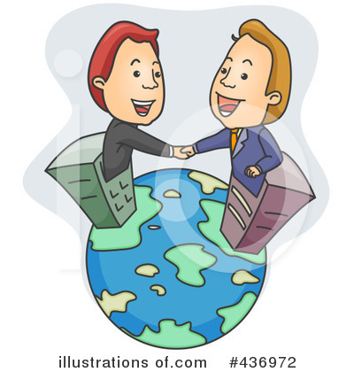 Handshake Clipart #436972 by BNP Design Studio