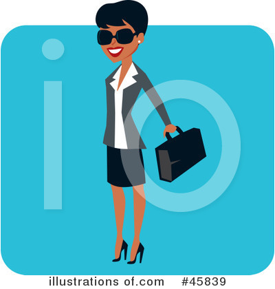 Businesswomen Clipart #45839 by Monica