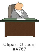 Royalty-Free (RF) Business Clipart Illustration #4767