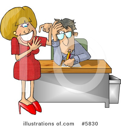 Secretary Clipart #5830 by djart