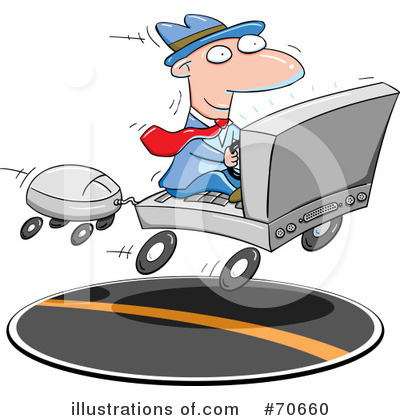 Computers Clipart #70660 by jtoons