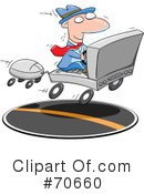 Royalty-Free (RF) Business Clipart Illustration #70660