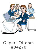 Royalty-Free (RF) Business Clipart Illustration #84276