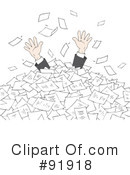 Royalty-Free (RF) Business Clipart Illustration #91918