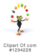 Business Frog Clipart #1294228 by Julos