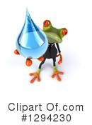 Business Frog Clipart #1294230 by Julos