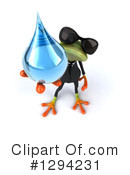 Business Frog Clipart #1294231 by Julos