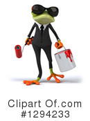 Business Frog Clipart #1294233 by Julos
