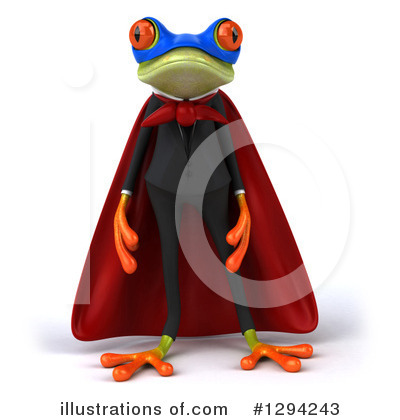 Green Business Frog Clipart #1294243 by Julos