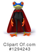 Business Frog Clipart #1294243 by Julos