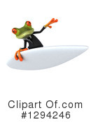 Business Frog Clipart #1294246 by Julos