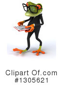 Business Frog Clipart #1305621 by Julos