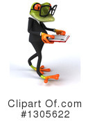 Business Frog Clipart #1305622 by Julos