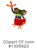 Business Frog Clipart #1305623 by Julos