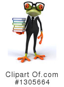Business Frog Clipart #1305664 by Julos