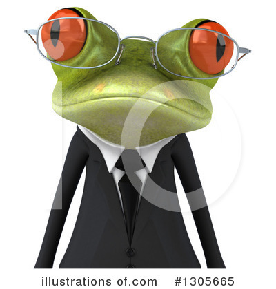 Green Frog Clipart #1305665 by Julos