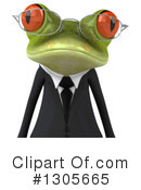 Royalty-Free (RF) Business Frog Clipart Illustration #1305665
