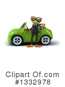 Business Frog Clipart #1332978 by Julos