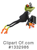 Business Frog Clipart #1332986 by Julos
