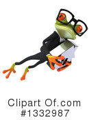 Business Frog Clipart #1332987 by Julos