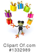 Business Frog Clipart #1332989 by Julos