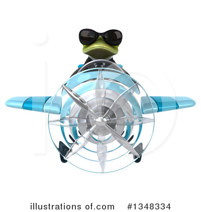 Green Business Frog Clipart #1348334 by Julos