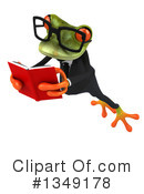 Business Frog Clipart #1349178 by Julos