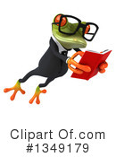 Business Frog Clipart #1349179 by Julos
