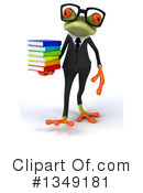 Business Frog Clipart #1349181 by Julos