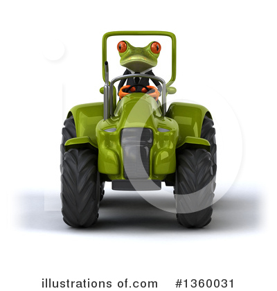 Green Business Frog Clipart #1360031 by Julos
