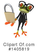 Business Frog Clipart #1405819 by Julos