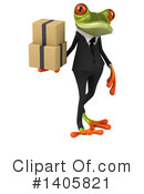 Business Frog Clipart #1405821 by Julos