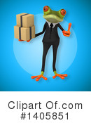 Business Frog Clipart #1405851 by Julos