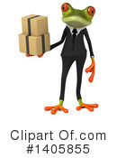 Business Frog Clipart #1405855 by Julos