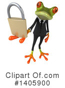 Business Frog Clipart #1405900 by Julos