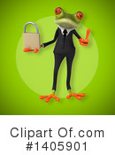 Business Frog Clipart #1405901 by Julos