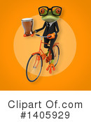 Business Frog Clipart #1405929 by Julos