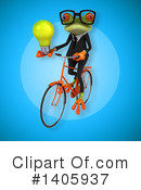 Business Frog Clipart #1405937 by Julos