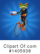 Business Frog Clipart #1405938 by Julos